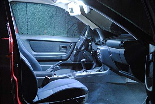 Pro!Carpentis compatible con A4 B8 berlina Avant a partir de 2007-14x bombillas Iluminación interior LED JUEGO BLANCO lámparas de vehículo luz de habitáculo