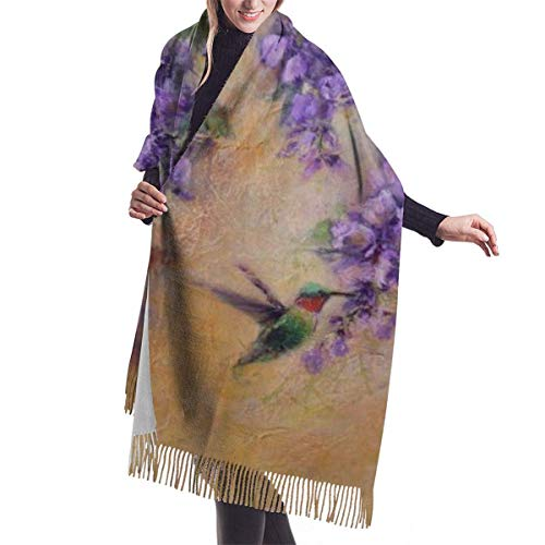 Bufanda de cachemir de lujo para mujer, grande, elegante, chal