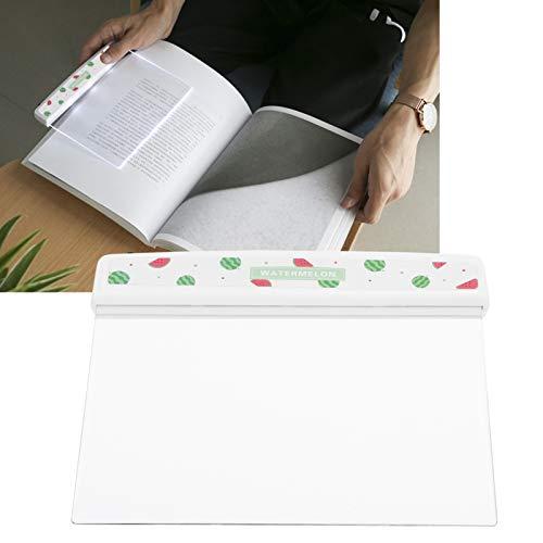 Lámpara de lectura plana, luz de lectura innovadora, para dormitorio en casa