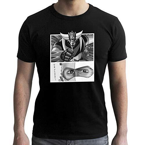 ABYstyle - GRENDIZER - Tshirt Goldorak & Actarus Homme Black (M)