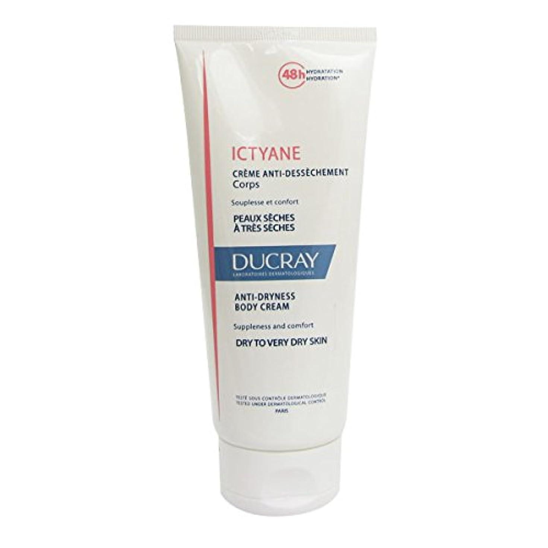 呼吸報酬のトレイDucray Ictyane Moisturizing Emollient Cream 200ml [並行輸入品]