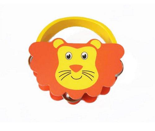 Lion Mignon Mini Tambourin Bois tambour à main pour enfants
