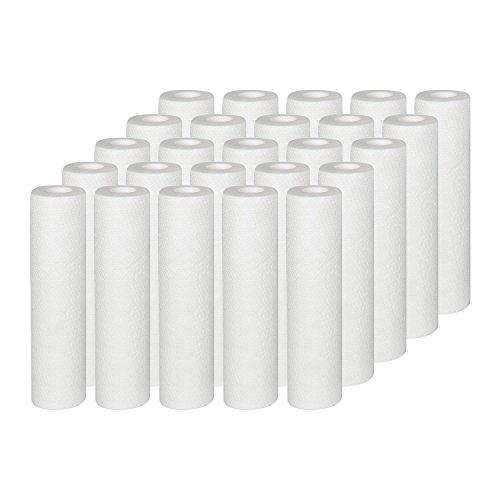 Vyair AquaFilter - Cartucho de filtro de agua para eliminar arena, sedimentos, ósmosis inversa y partículas de arena, limo, suciedad y óxido (25)