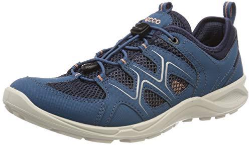 Ecco Damen TERRACRUISELTW Sneaker, Blau (Indian Teal/Marine/Muted Clay 51390), 39 EU