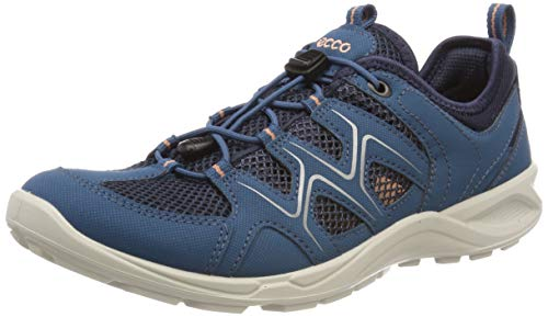 Ecco Damen TERRACRUISELTW Sneaker, Blau (Indian Teal/Marine/Muted Clay 51390), 36 EU