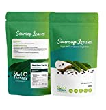 Organic Soursop Graviola Dried Leaves for Tea | 150 Leaves | Hojas De Guanabana Orgánica De Perú | 150 Hojas | Product From Peru | Packaged In The USA (150 Leaves)
