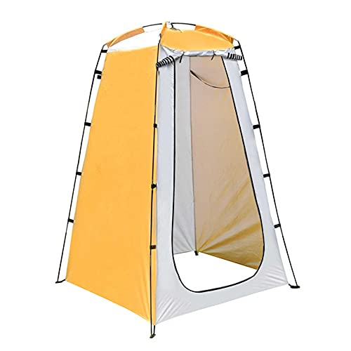Linsition Tienda de campaña desplegable para baño, impermeable, anti rayos UV, portátil, con bolsa de transporte, protección contra la lluvia, para camping y playa, 120 x 120 x 190 cm