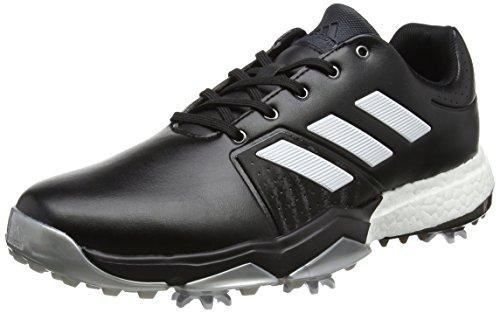 adidas - Performanceadipower Boost 3 - Zapatos de Golf - Footwear White/Carbon/Vivid Yellow