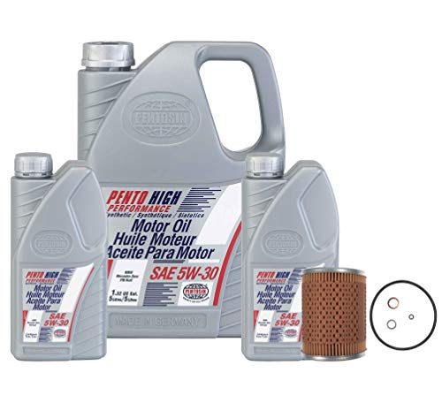 OEM 5W-30 High Performance 7 Liter Oil Change Kit For BMW