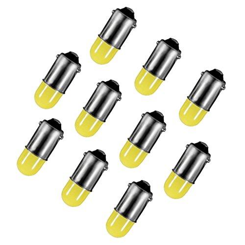 MagiDeal 10pcs LED Ampoule Intérieur de Voiture Idéal pour Plafonnier et Tableau de Bord