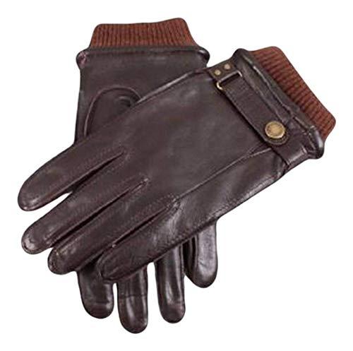 Dents Brown gants en cuir occasionnelles 9