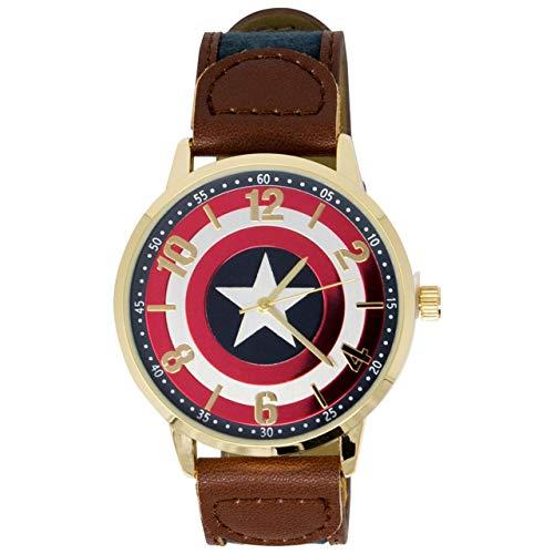 Armbanduhr Captain America Logo