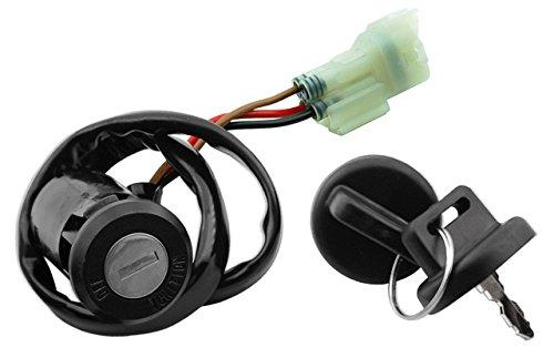 Zündschloss Ersatzteil für/kompatibel mit Kymco MXU Maxxer 50 250 300 500 KXR 250 Sport Quad Zündschloß mit 2Schlüssel