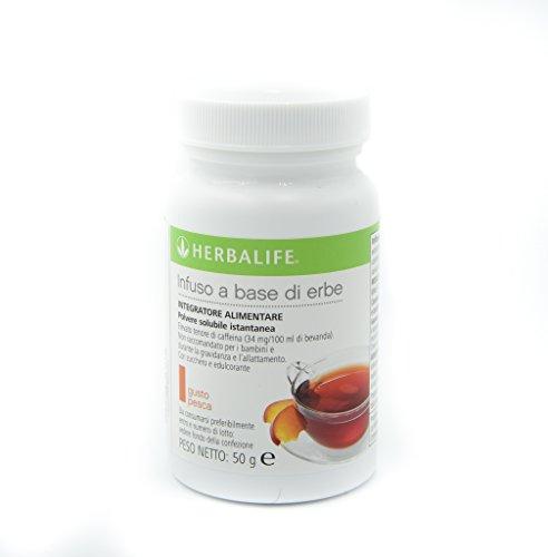 Herbalife Instant-Kräutergetränk auf Pflanzenbasis 50 g Geschmack Pfirsich