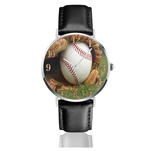 Guantes de béisbol Clo Relojes Reloj de Cuero de PU Duradero Reloj...