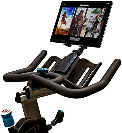 Spinning Deluxe Media Mount Compatible w Dual Water Bottle Holder Spin Bikes product image