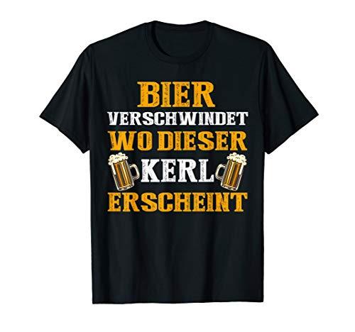 Funny Bier Verschwindet Wo Dieser Kerl Erscheint 2019 Gift T-Shirt