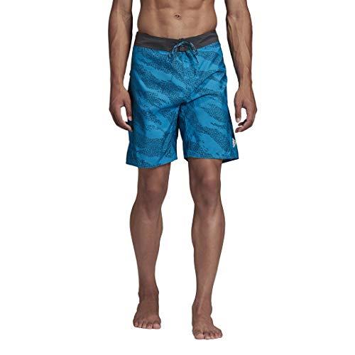Adidas Classics Primeblue Sharp Blue - Pantalones cortos para hombre, 30 pulgadas