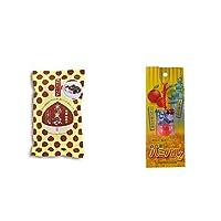 [2点セット] 木の実よせ くりくり味(5個入)・信州・飯田のシンボル 時の番人ハミパルくんストラップ