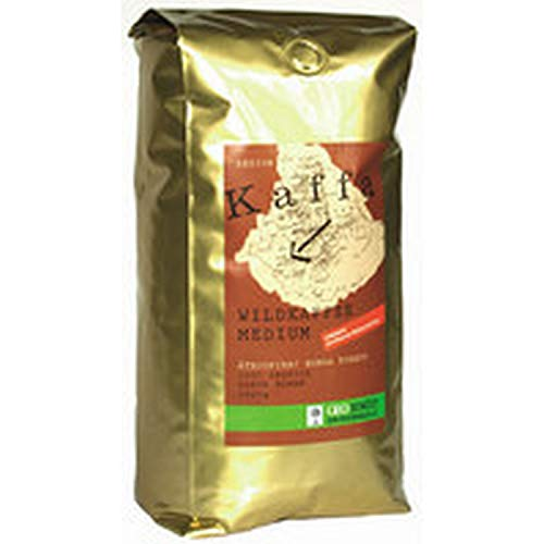 Kaffa Bio Wildkaffee Medium Bohne 1000 g