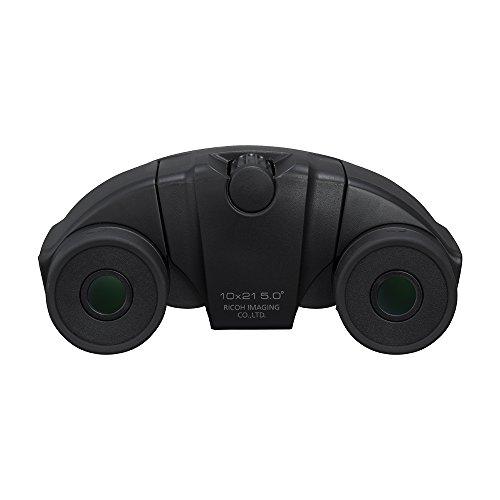 PENTAX 双眼鏡 UP 10x21 ブラック 小型軽量 フルマルチコーティング 高級プリズムBak4搭載 (10倍) フェス ライブ コンサート スポーツ観戦 メーカー保証1年 ペンタックス 61804