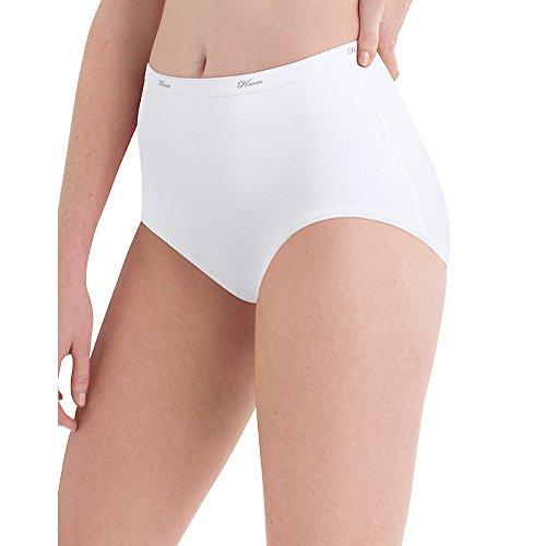 Hanes-Womens-Cotton-White-Brief-10-Pack