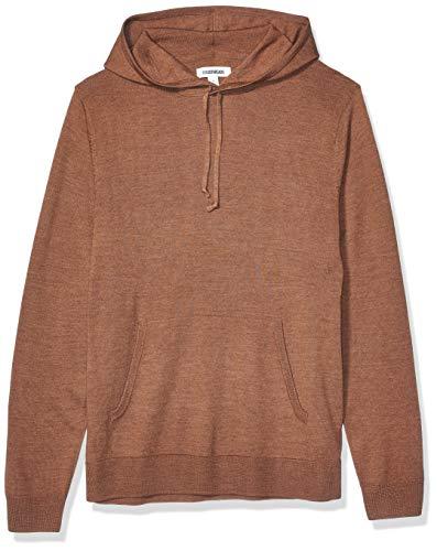 Goodthreads Merino Wool Hoodie Sweater Pullover, camel, S