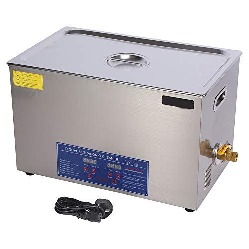 SISHUINIANHUA 600W 30L Protable Edelstahl-Digital-Ultraschall-Reiniger Ultraschall-Reinigungsgerät Beheizte Lokale