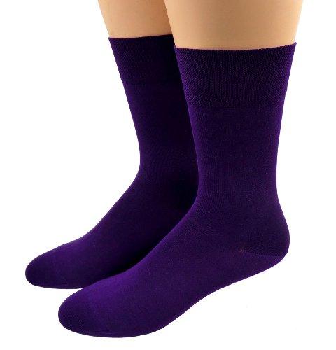 Shimasocks Herren Business Socken gasiert- mercerisiert Farbe: violett, Größe: 39/42
