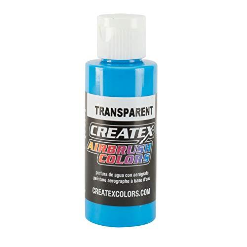 Createx 5105-4Z Createx Caribbean Blue Transparent Airbrush Color CREATEX by Createx