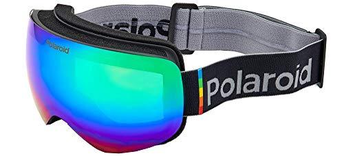Polaroid PLD Mask 01 9KS/5Z Matte Black 0, Gafas Unisex Adulto, Azul Oscuro/Multicolor