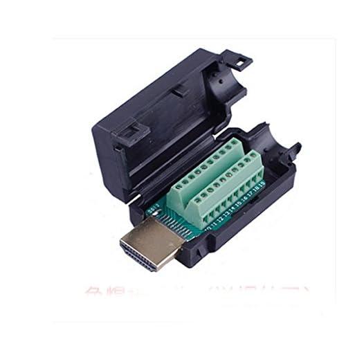 Adattatore HDMI segnali di Breakout con Terminale in Plastica Coperchio Terminale Breakout Board Connettore