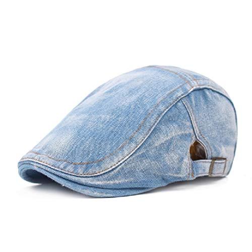 HNCE Männer Denim Baseball Cap Solid Denim Cap Jeans Gewaschener Hut Frauen Blank Caps Sporthut Sun Cap