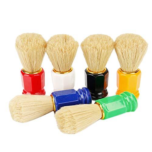 TOOGOO 6 PièCes SéRies Brosse à Raser pour les Hommes Appareil de Rasage Facial de Rasage de Rasoir D'Outil de Nettoyage D'Hommes de Salon avec la Poignée pour les Hommes