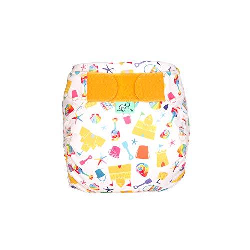 TOTSBOTS Pañal de natación reutilizable para bebé – Hermosos pañales de natación para recién nacidos a niños pequeños, diversión en el sol o remo en la piscina seguro (Funshine)
