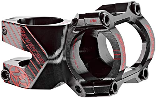 Reverse Black-One Enduro Vorbau 1 1/8 31.8mm 50mm schwarz/rot