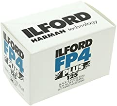 Ilford FP4 Plus, Black and White Print Film, 135 (35 mm), ISO 125, 24 Exposures (1700682) 2 Pack