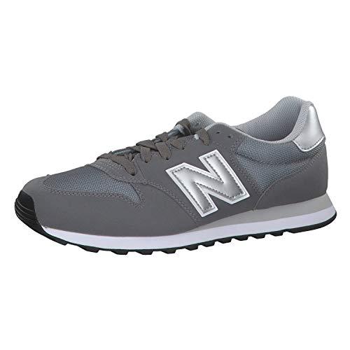 New Balance 500 Core, Scarpe Sportive Uomo, Grey/White Gry, 42 EU