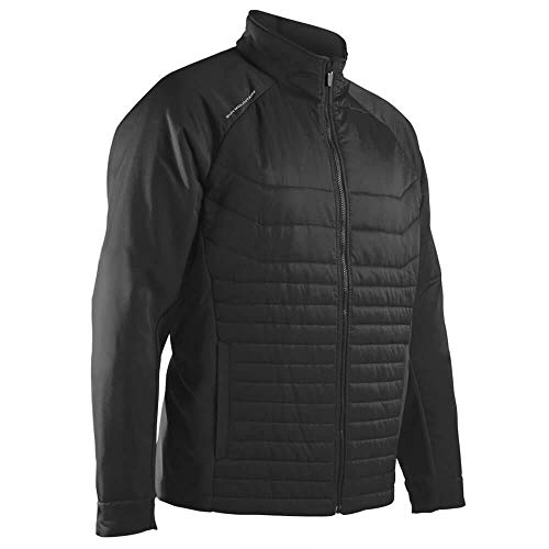 Why Should You Buy Sun Mountain 2018 Men's Hybrid Golf Jacket (Black, Medium)