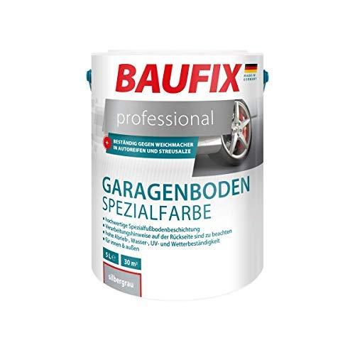 BAUFIX Professional Garagenboden Spezialfarbe Silbergrau 5 liter