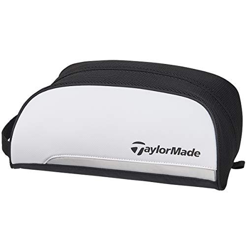 テーラーメイド(TAYLOR MADE) トゥルーライト シューズケース ホワイト/ブラック M72373 メンズ
