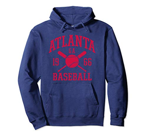 Vintage Atlanta Baseball | Georgia ATL Brave Retro Gift Pullover Hoodie