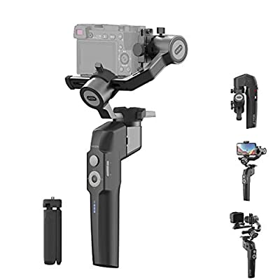 Amazon - Save 30%: MOZA Mini P Gimbal Stabilizer Handheld 3 Axis Gimbal 4-in-1 for Mirrorl…