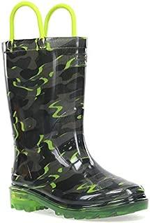 Western Chief Kids' Light-up Waterproof Rain Boot