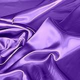 TOLKO 1m Glanz Satin | Modestoff Dekostoff Kostümstoff zum