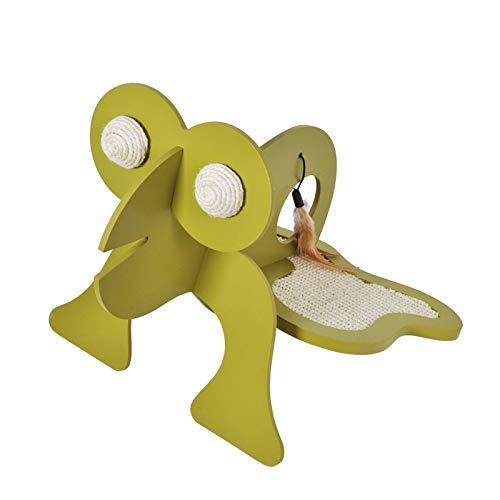 VOSS.PET Kratzspielzeug Fred der Frosch