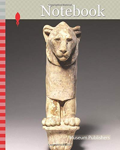 Notebook: Lion furniture leg, Late Period, 4th century B.C., From Egypt; Possibly from Eastern Delta, Hihya, Faience