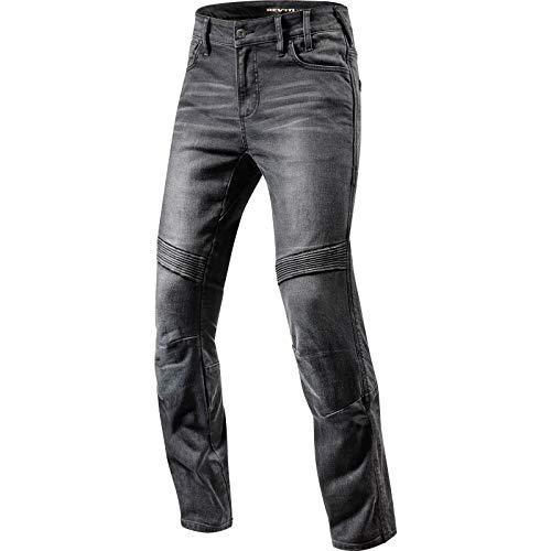 REV'IT! Motorrad Jeans Motorradhose Motorradjeans Jeans Moto schwarz 30/34, Herren, Chopper/Cruiser, Ganzjährig