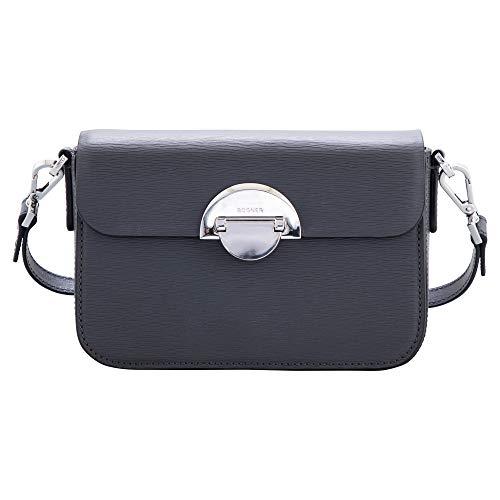 Bogner Damen Schultertasche Zürs Paula aus Leder Handtasche mit Überschlag
