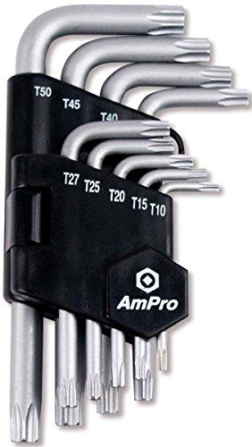 Ampro T22925 Clés Torx Percées
